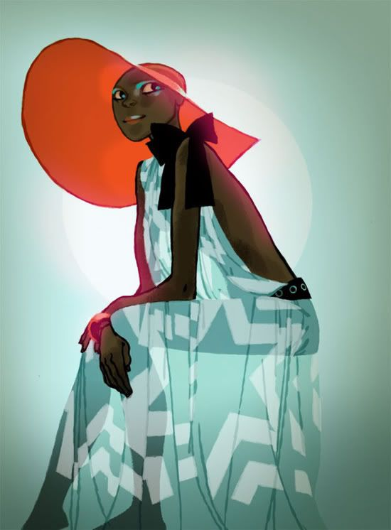 La sensualidad sesentera de Annette Marnat | Cherry Bomb Design Studio, estudio de diseño en México.