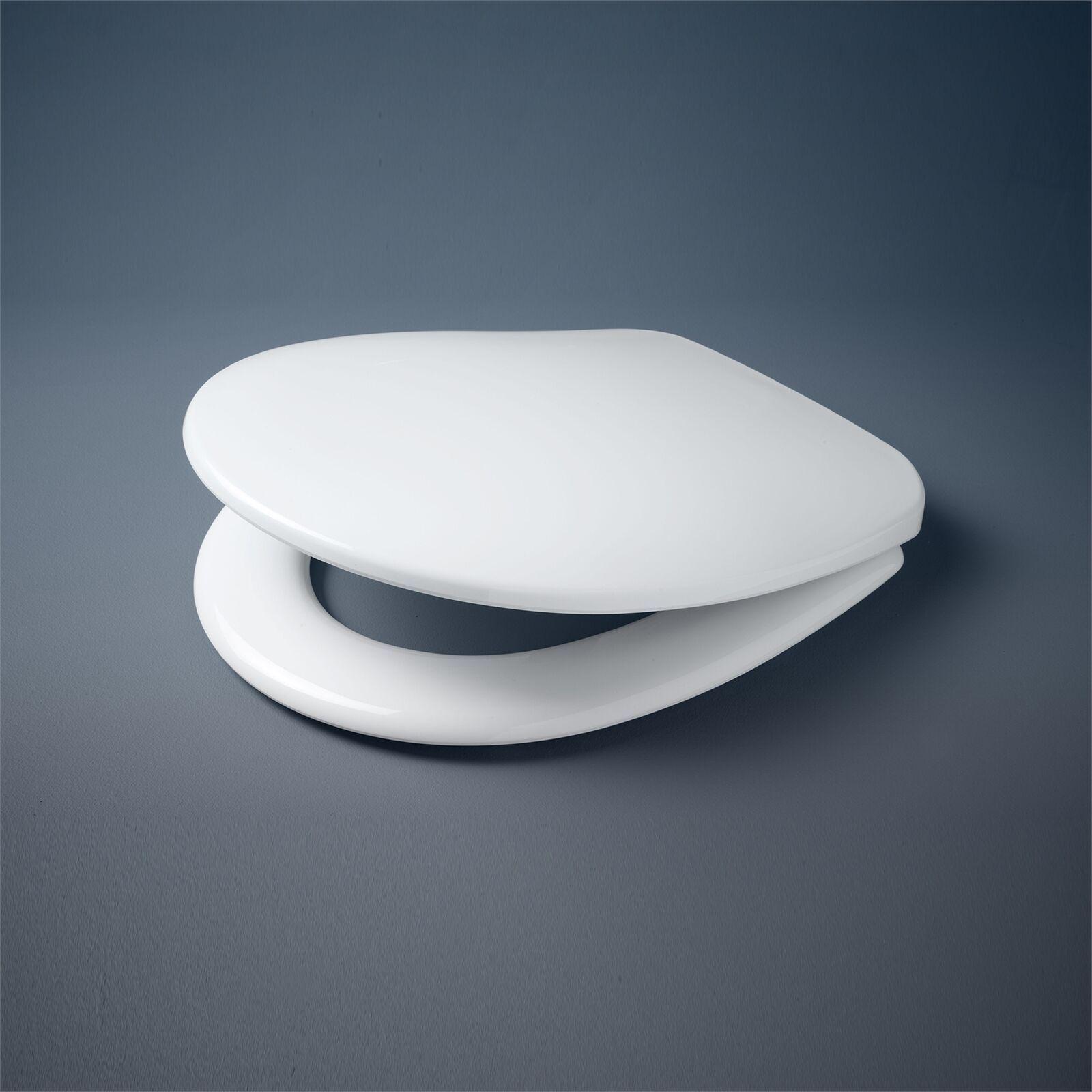 Caroma Hinge Profile Toilet Seat Soft Close Adjustable Fixing White Aust Brand In 2020 Caroma Toilet Seat Gold Taps