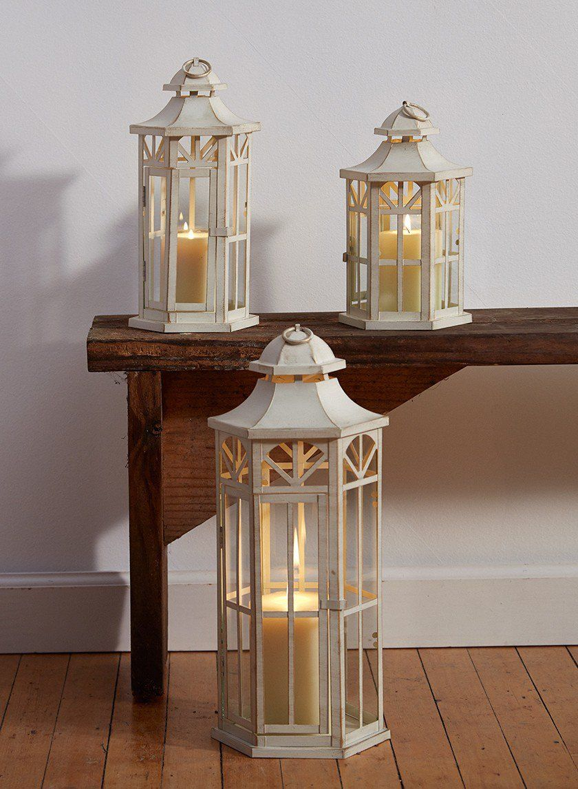 38+ White wooden lanterns for weddings ideas