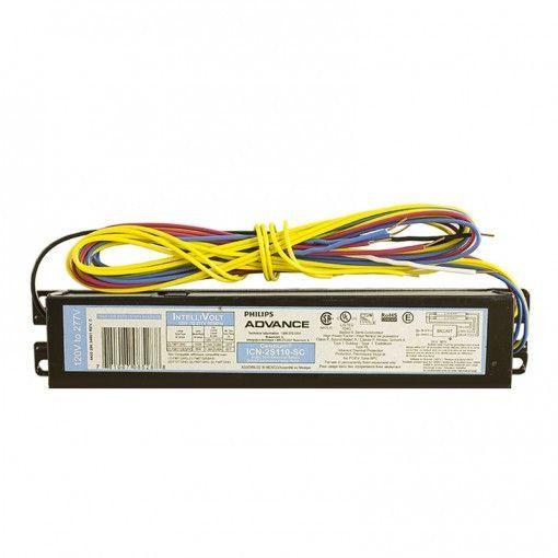 Advance F96t12 Ho 1 2 Lamp Electronic Ballast 120 277v Ballast Philips Electronics