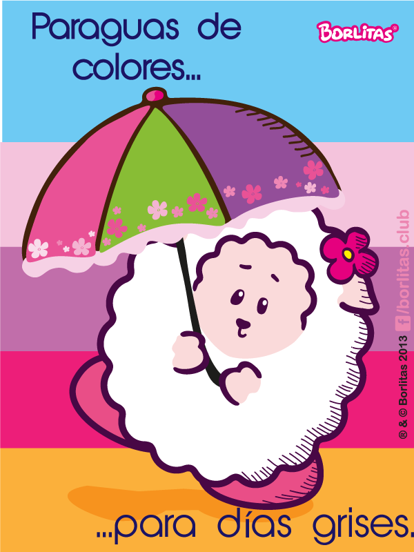 Paraguas De Colores Para Dias Grises Borlitas 3 Paraguas De