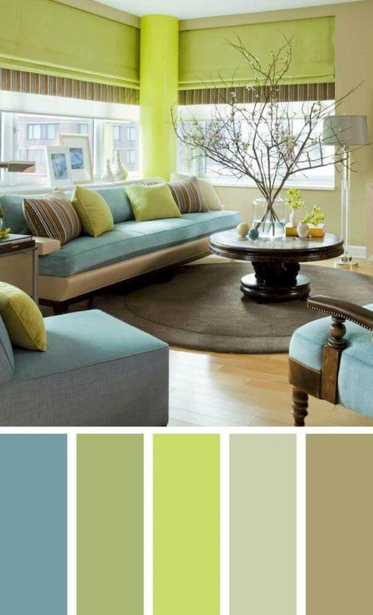 40 Gorgeous Living Room Color Schemes Ideas Livingroomcolorschemeideas Wohnzimmer Farbschema Wohnzimmer Design Diy Wohnzimmer
