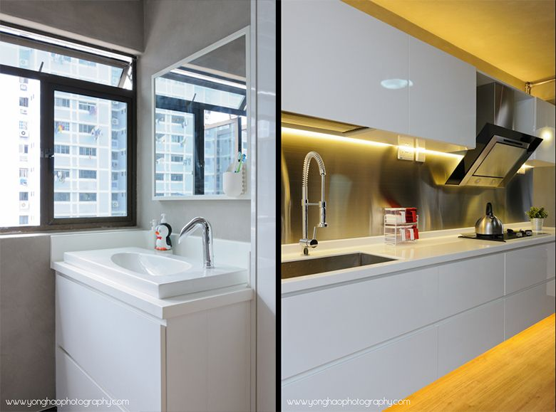 3i Hdb Reno Like D Ss Backsplash N Basin Position At Service Area Home Kitchen Pinterest