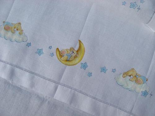 Lenzuolino orsetti punto croce pinterest - Pagine da punto a punto per bambini ...