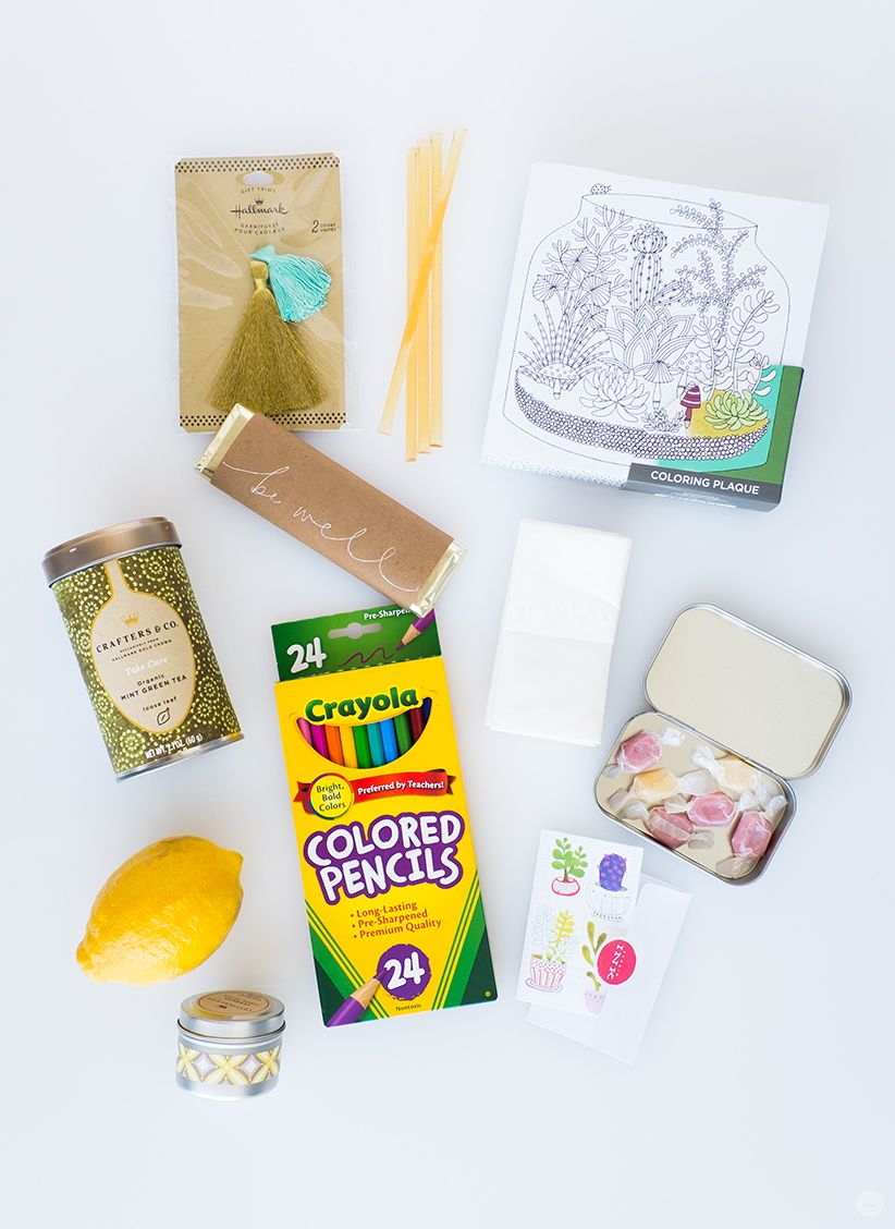 Diy Wellness Gift Basket Think Make Share Wellness Gifts Diy Wellness Mom Birthday Crafts