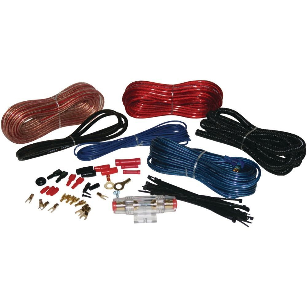 Pyle Hydra Series 8 Gauge Amp Marine Grade Installation Kit Audio Wiring Hook Up Accessories Amplifier Plain And Simple Deals No Frills Just