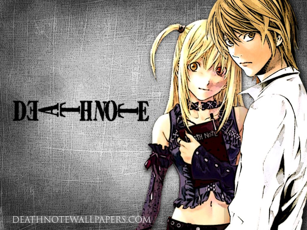 Anime / Death Note / Light / Misa | Death Note | Pinterest ...