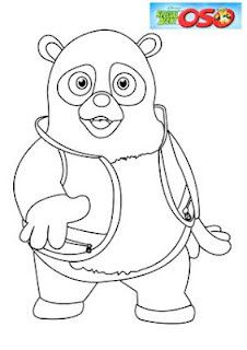 Special Agent Oso Coloring Pages  Special agent oso  Pinterest