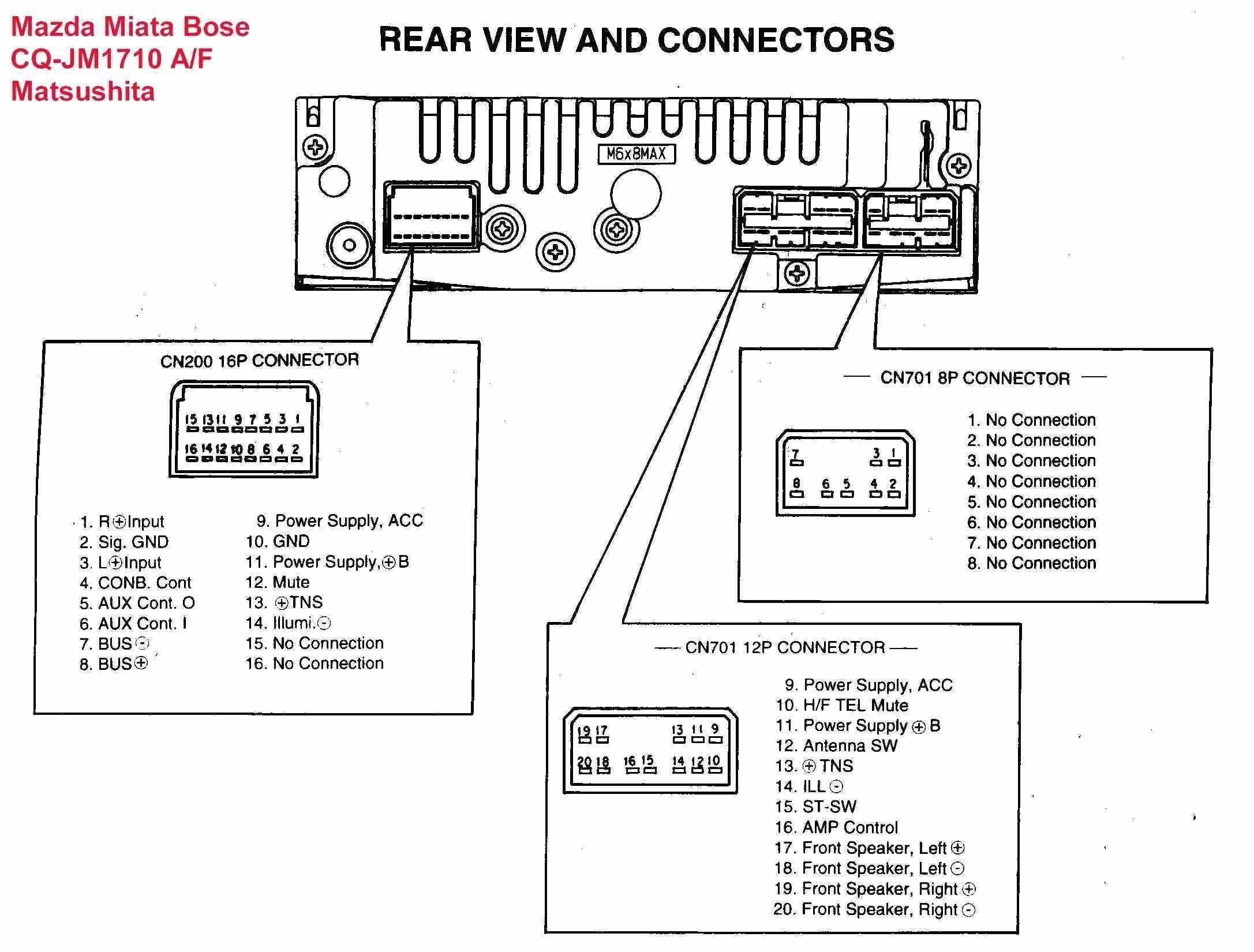 Pioneer Head Unit Wiring Diagram In 2020 Sony Car Stereo Car Stereo Systems Car Stereo