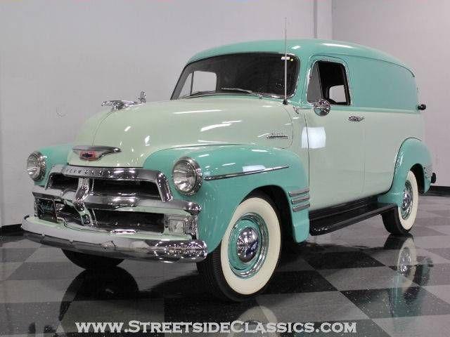 1954 Chevrolet Panel Truck Classic Cars Trucks Chevrolet Trucks Classic Trucks