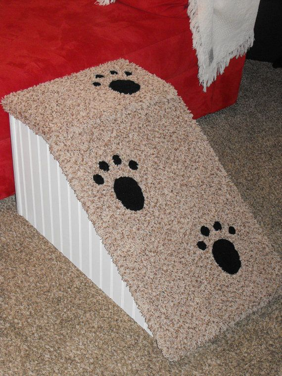 Doggie Steps For High Beds | 18 Inch High Dog Ramp. Perfect For Long Bodied