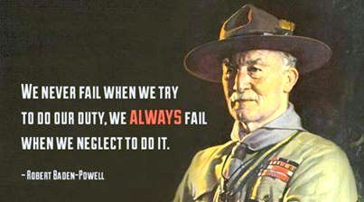 Baden Powell Saying Quotes Pinterest Boy Scouts Cub Scouts