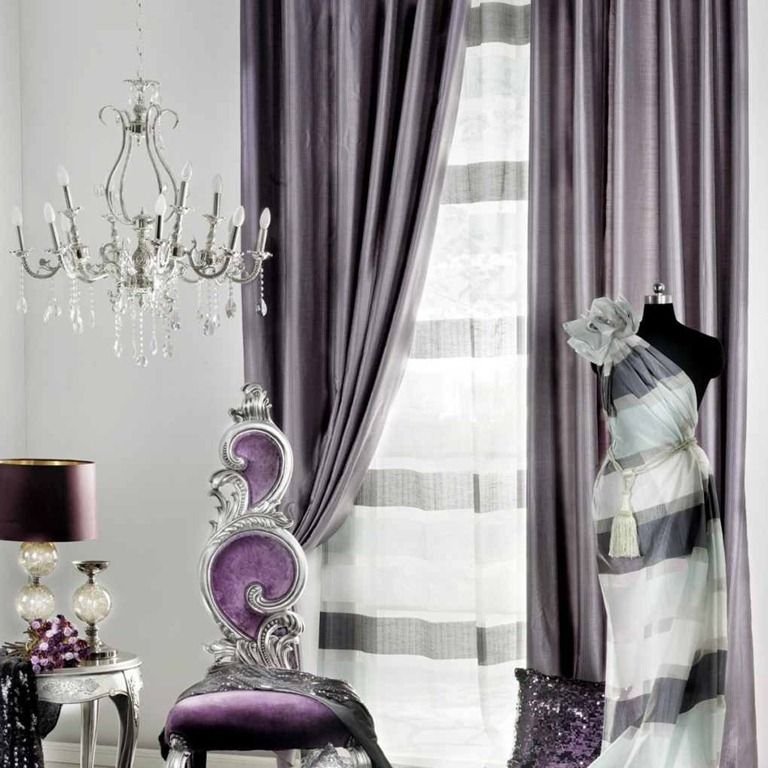 Cozy Modern Curtain Ideas For Living Room  Modern Living Room Glamorous Living Room Curtains Design Review