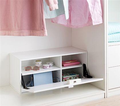 Dorm Storage · Yak About It Locking Safe Trunk   White