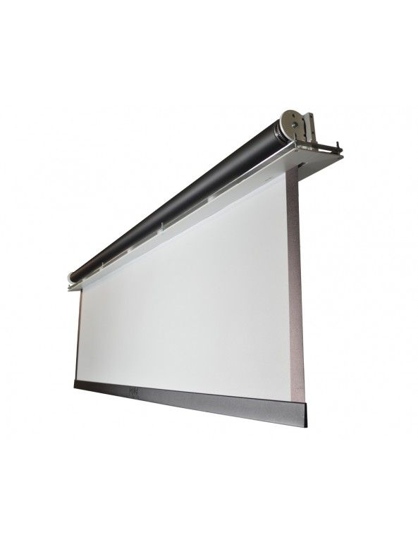 240cm Ceiling Recessed Projector Screen Lady Cave In