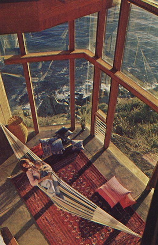 indoor hammock. Omg yes please
