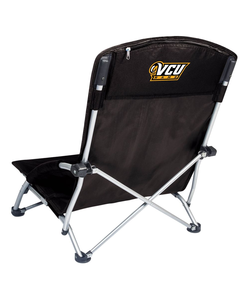VCU Rams Black Folding Chair Beach chairs portable