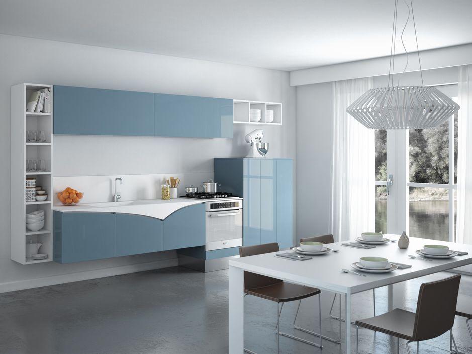 Coin Arredamento ~ Cucina fly u e arredamento azzurro celeste design