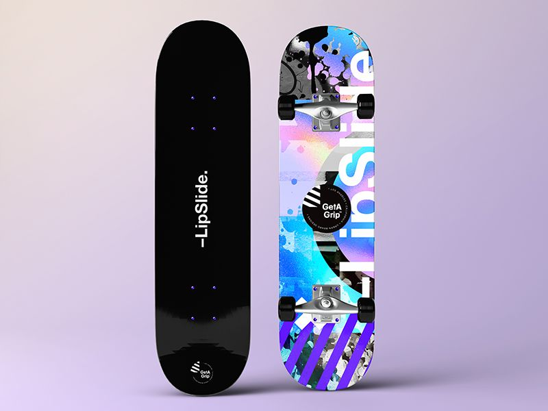 Getagrip Lipslide Skateboard Design Cool Skateboards Skateboard