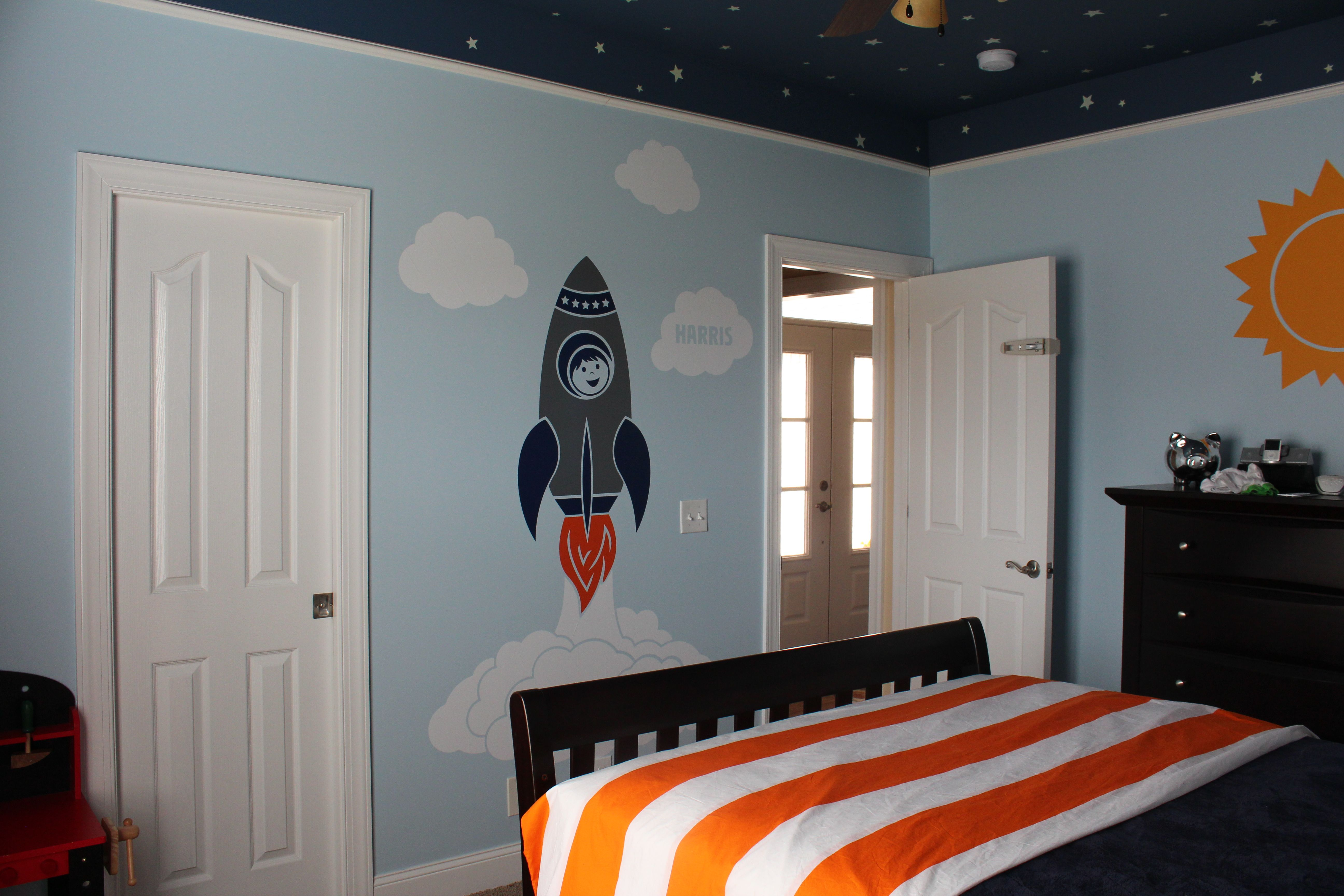 Galaxy Lights For Bedroom Space Room Rocket Launch Scene Cool Rocket And I Like