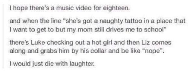 (18 music video featuring Liz hemmings) Who ever's the director of the video make it happen!