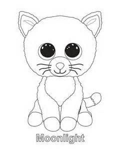 Ty Beanie Boos Coloring Pages Sketch Template Coloring Pages