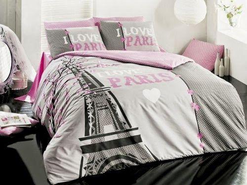 Bedroom Decor Ideas and Designs: Top Ten Paris Themed Bedding Sets ...