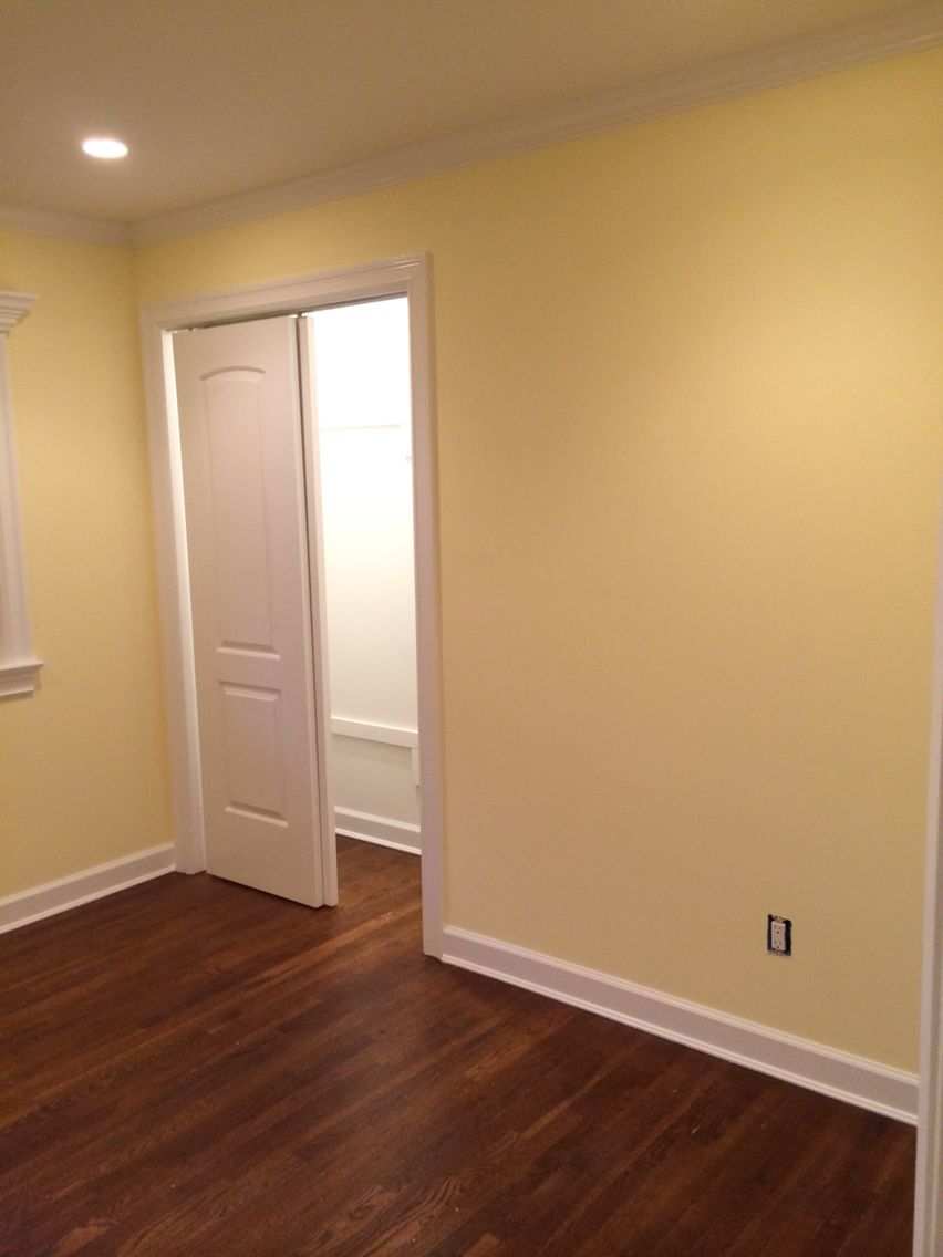 Benjamin Moore Wall Color Butter Dekorasi Rumah Ide Kamar Tidur Rumah Target painting adjoining rooms