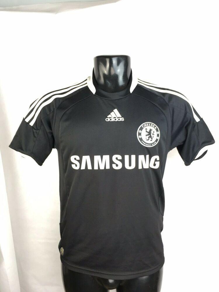 CHELSEA Football Club Adidas Third Away Black 20082009 Nmnv0w8