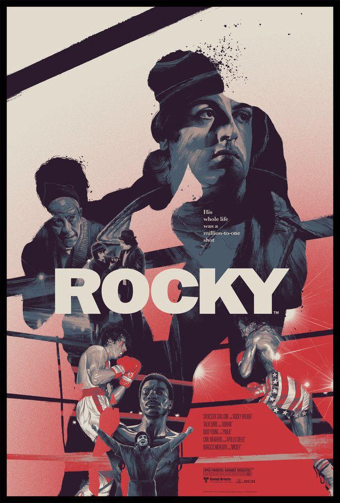 Rocky By Grzegorz Domaradzki Gabz Movie Posters Design Rocky Poster Alternative Movie Posters