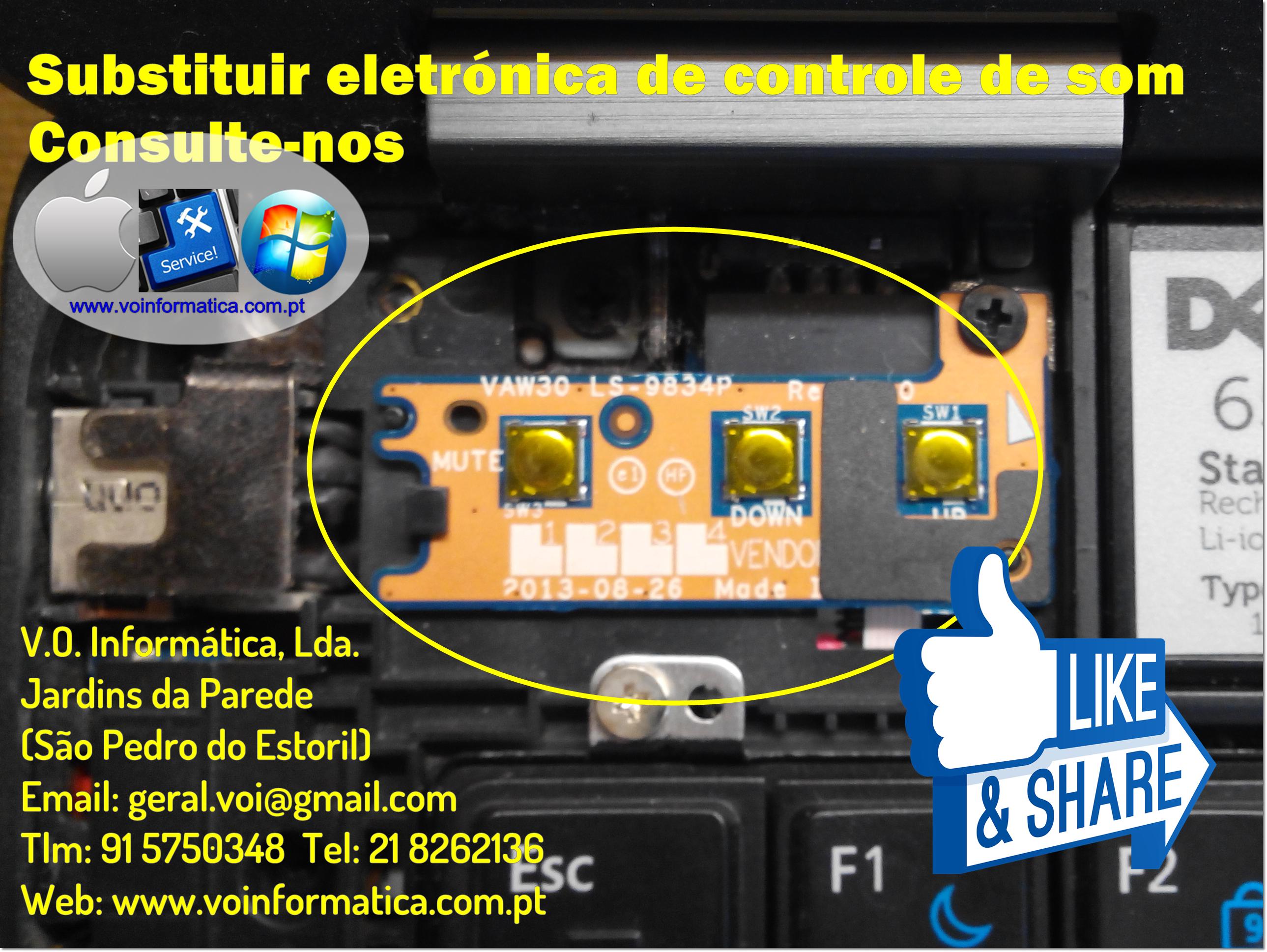 Pin de V.O. Informática, Lda. em Reparações de