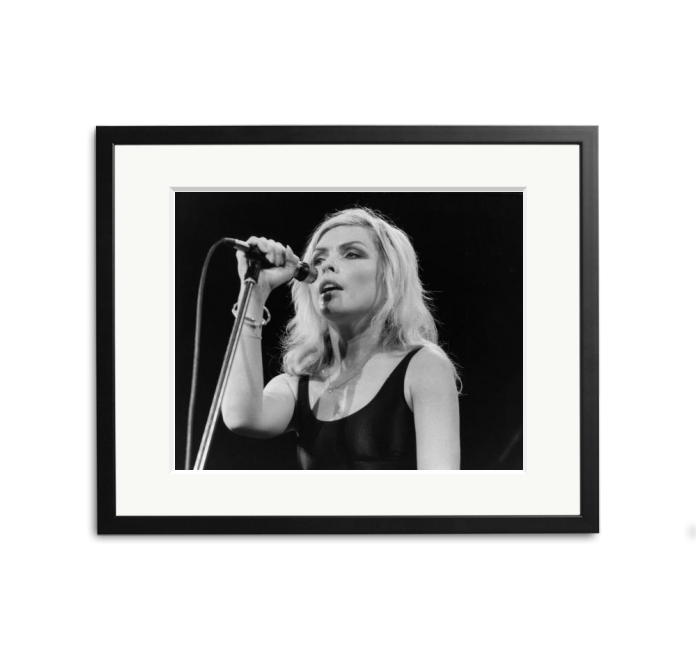 Debbie Harry at the Hammersmith Odeon.
