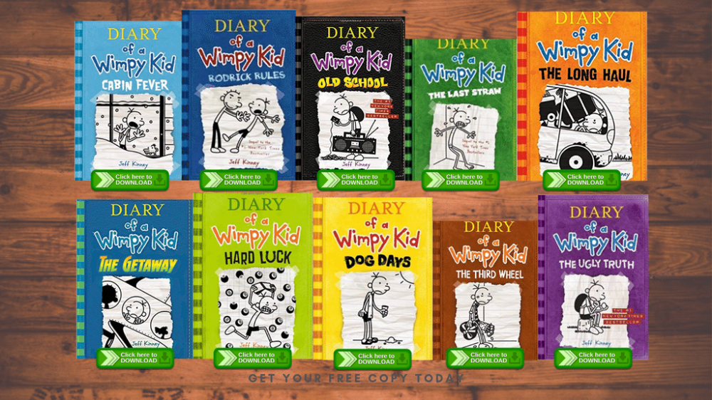 An Awesome Desktop Wallpaper Designed In Canva By Proshareclub Wimpy Kid Books Wimpy Kid Printing Business Cards