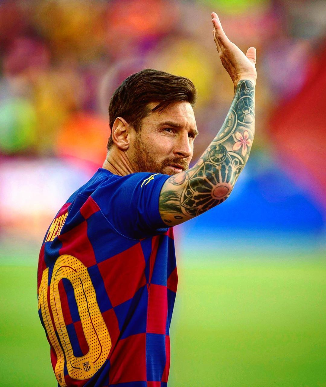 Let S Start The Party Messi Is Back Define Him With An