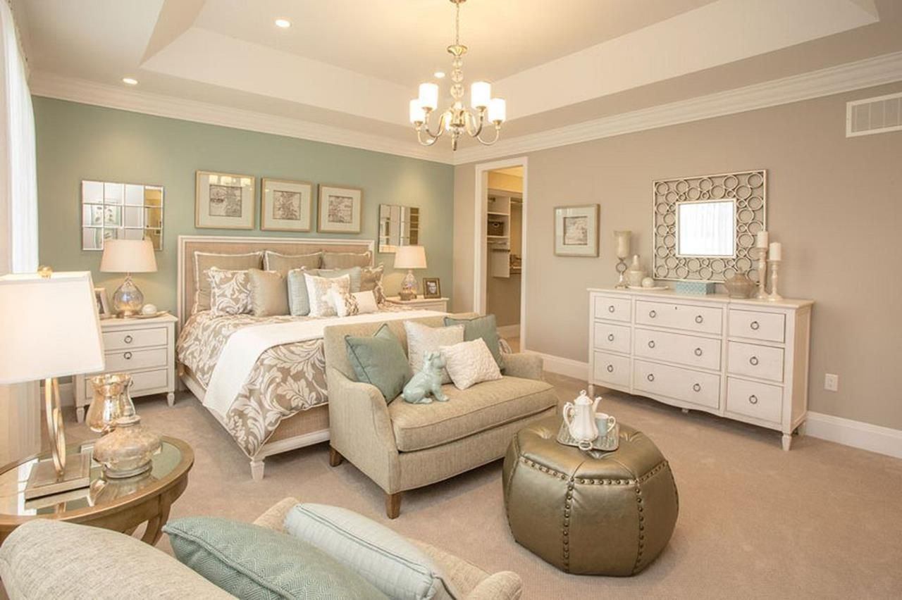 Blue And Beige Bedrooms Decorating Ideas 34 Master Bedrooms Decor Bedroom Design Home Bedroom