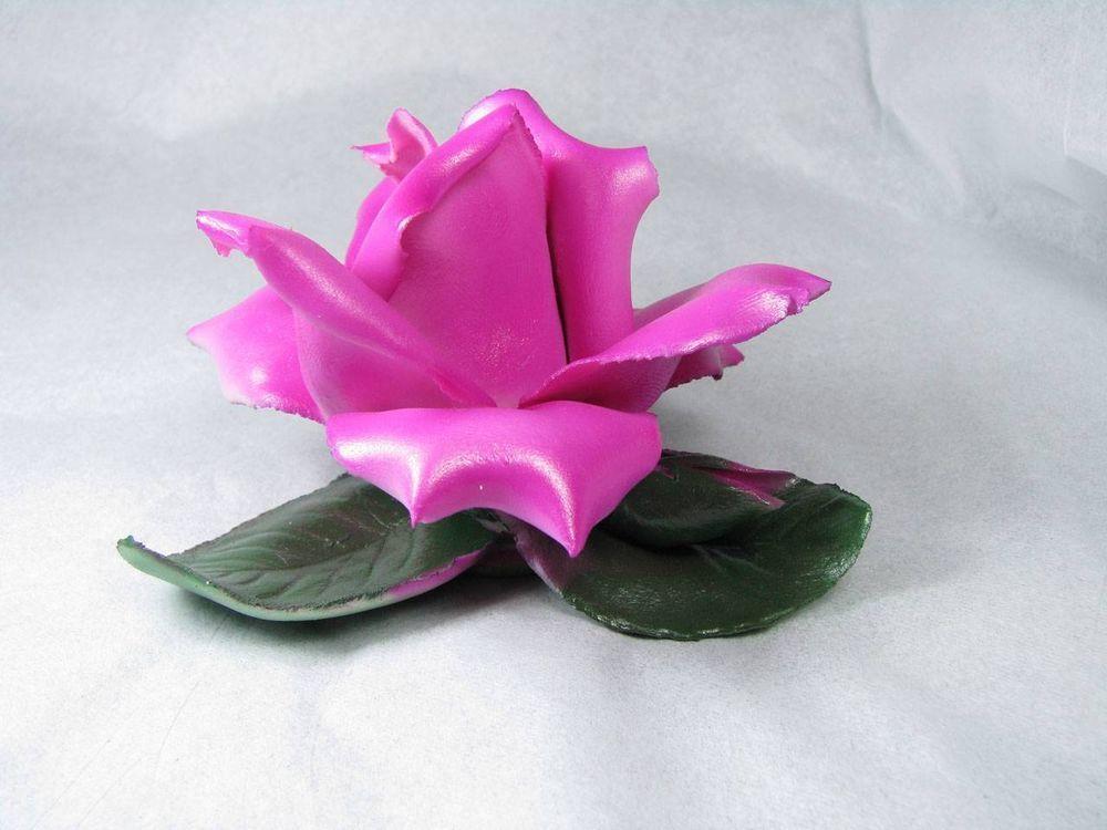 #VINTAGE CAPODIMONTE PORCELAIN FLOWER MIB! #capodimonte #Mediterranean #madeinitaly #italian #italy #rose #flower