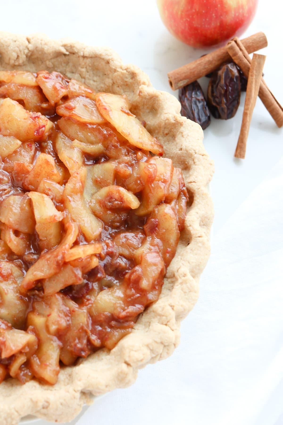 Instant Pot Caramel Apple Pie Recipe Pressure cooker