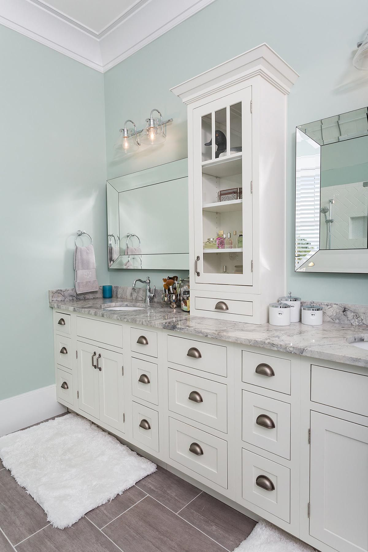 Beautifully Designed New Construction Home Features Master Bath - Bathroom vanities austin
