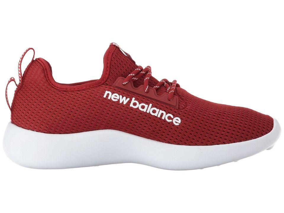 654e1861c0f71 New Balance RCVRYv1 Athletic Shoes Crimson/White | Products | New ...