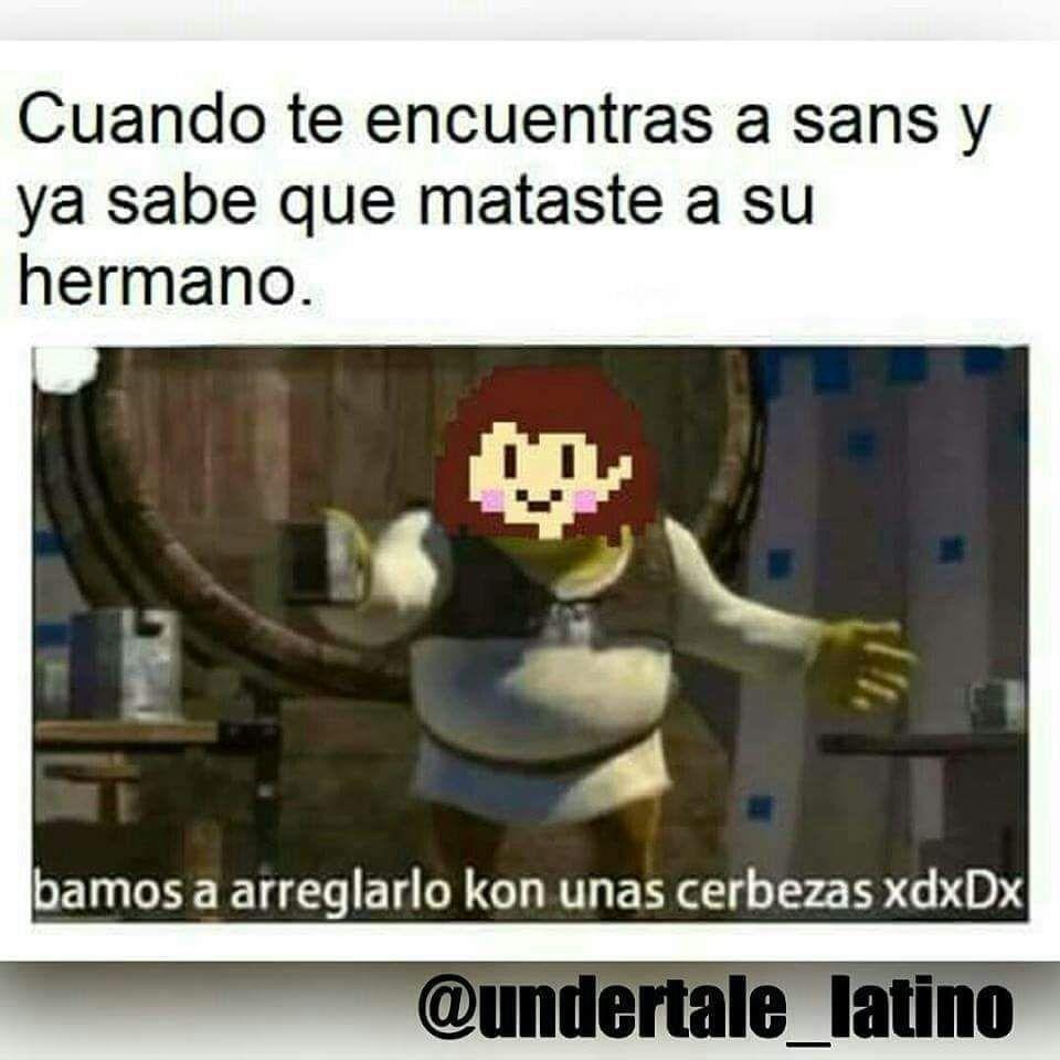 Resultado De Imagen Para Memes Undertale Espanol Undertale Memes Undertale Humor