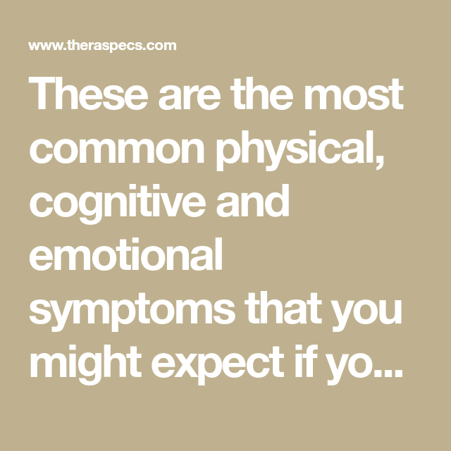 12 Likely Symptoms Of Post-Concussion Syndrome