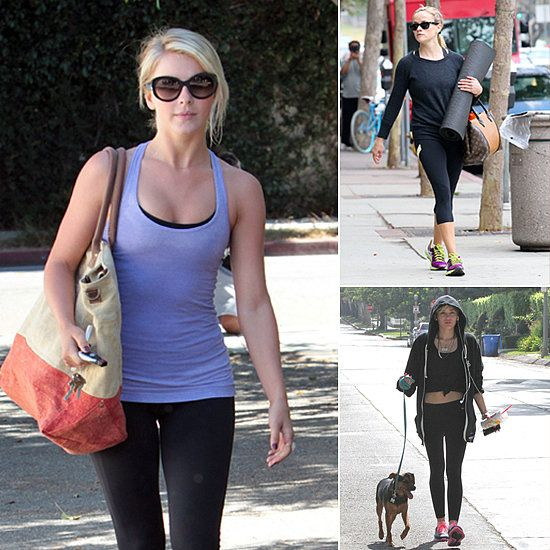 Pictures of Celebrities Working Out | August 1, 2013