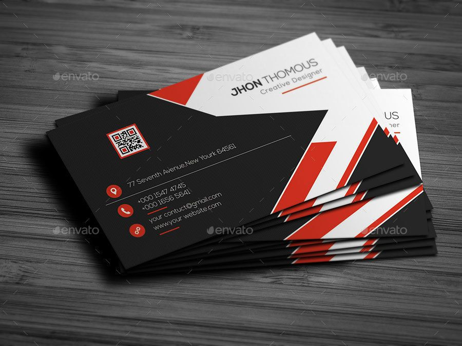 Business Card Bundle 2 In 1 Sponsored Business Spon Card