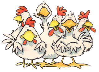Pingl par linda laux sur penny black animal drawings chicken art et chicken painting - Clipart poule ...