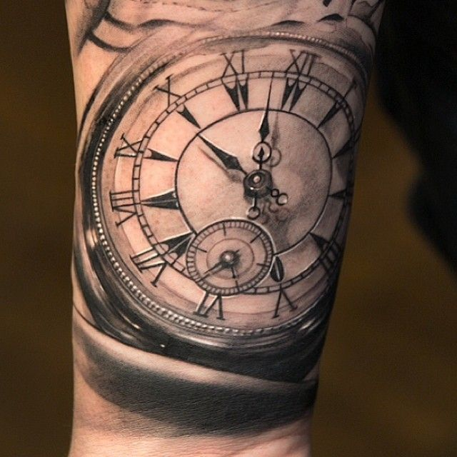 Timepiece 3d hypertattooing sweet tattoos tattoos - Wicked 3d tattoos ...