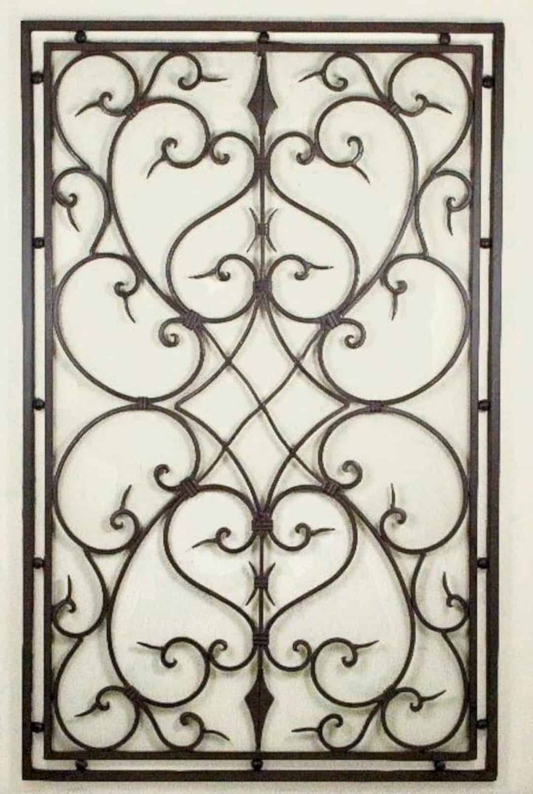 10 Superb Iron Wall Decorations With Images Iron Wall Art