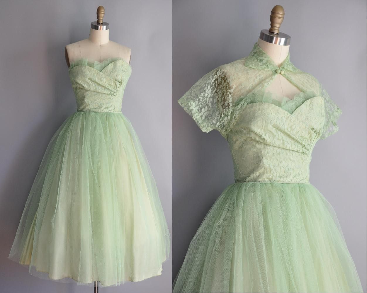 1000  images about Green Dresses on Pinterest  Tulle dress ...