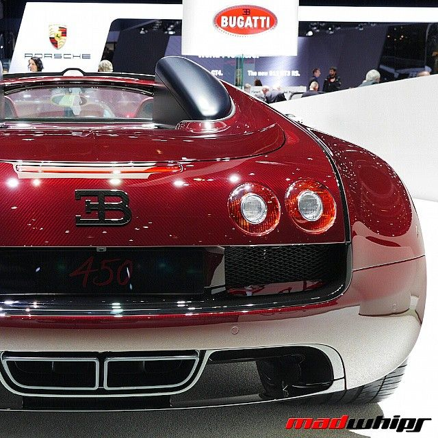 """""""La Finale Bugatti Veyron  Follow @WhipDaddy for more insane exotics from The Geneva Motor Show @WhipDaddy"""""""