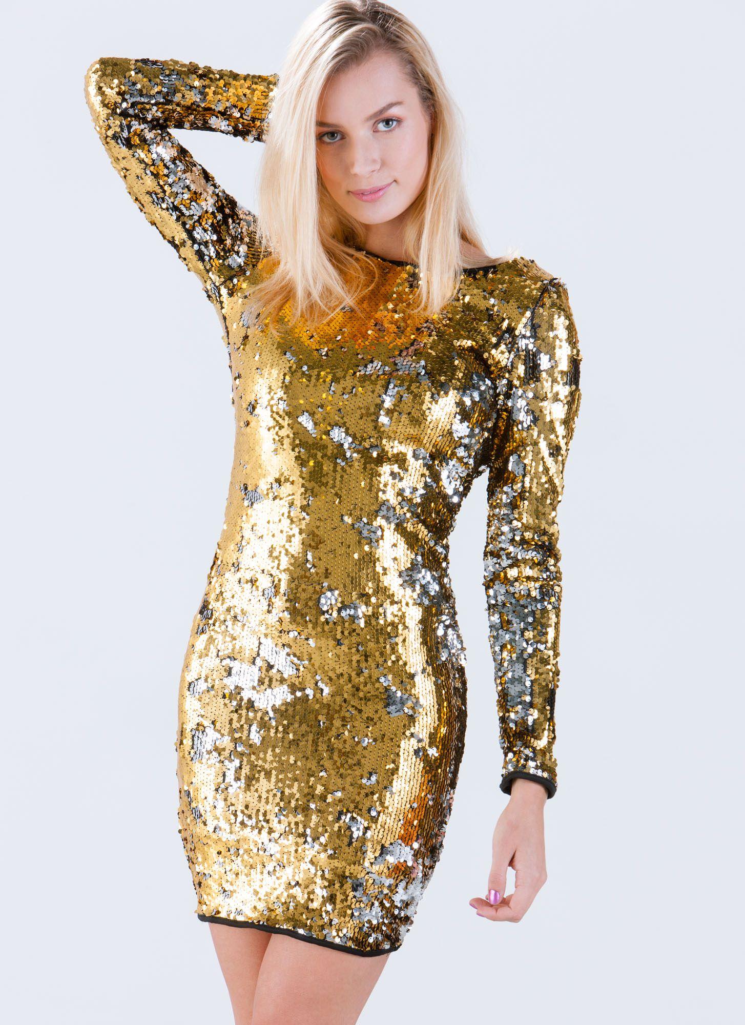 is better sequin bodycon dress gold black gojane shopping