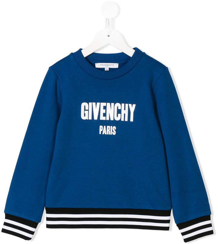 a1a64ff36d64 Givenchy Kids logo print sweatshirt | Products | Printed sweatshirts ...